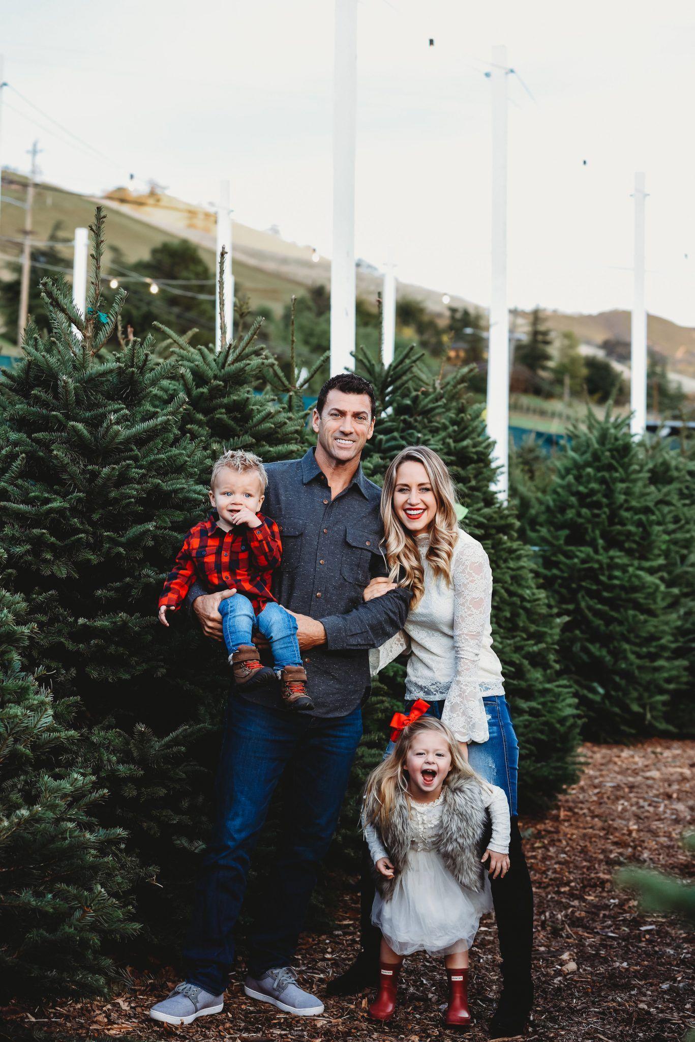 Holiday Family Photos Christmas Tree Farm Photos Family Holiday Photos Tree Farm Photo Shoot