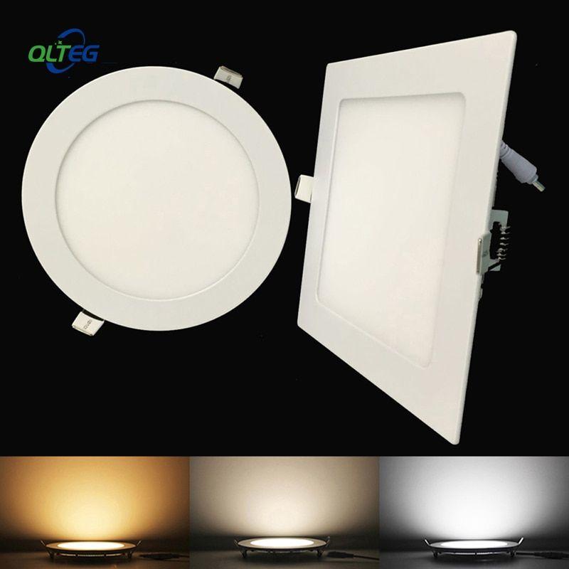 square led ceiling recessed light ac85