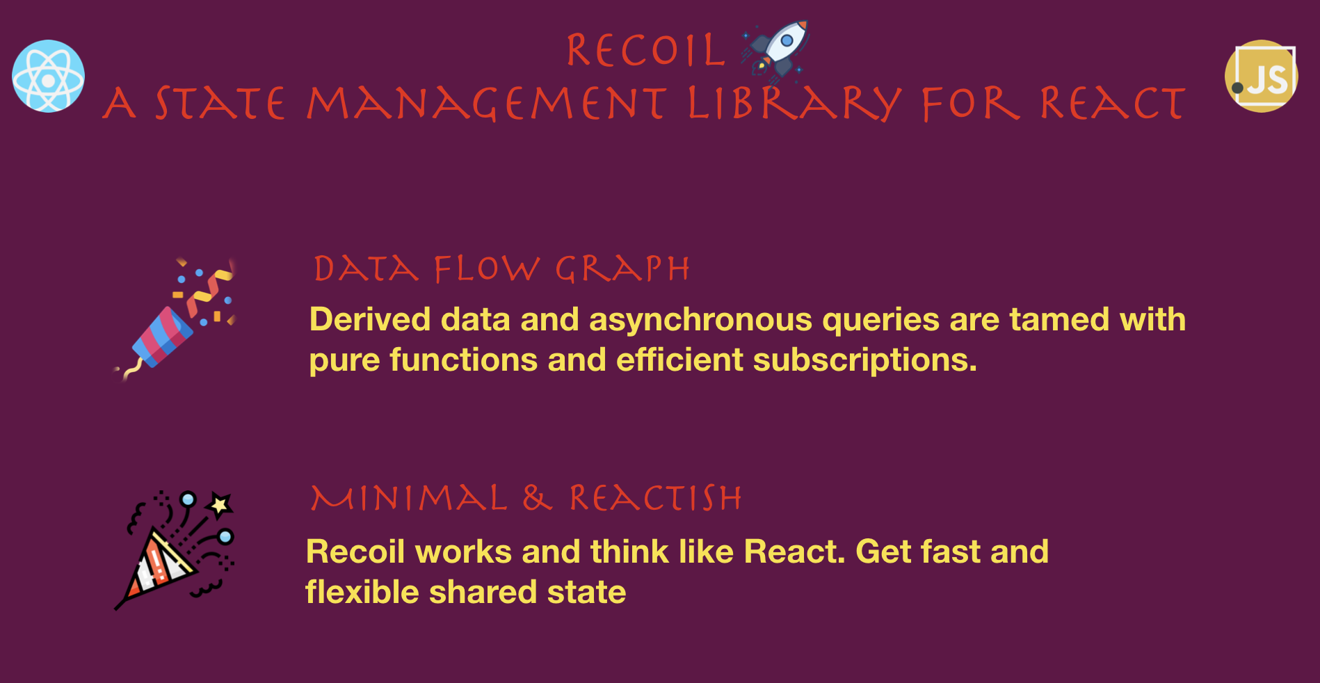 Photo of Recoil is an experimental state management library for React apps. It provides s…