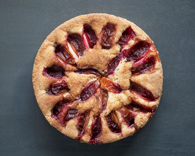 Almond Plum Buckle