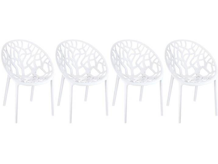 Design Stuhle Weiss 4er Set Arbol In 2020 Design Sweet Home Home Decor