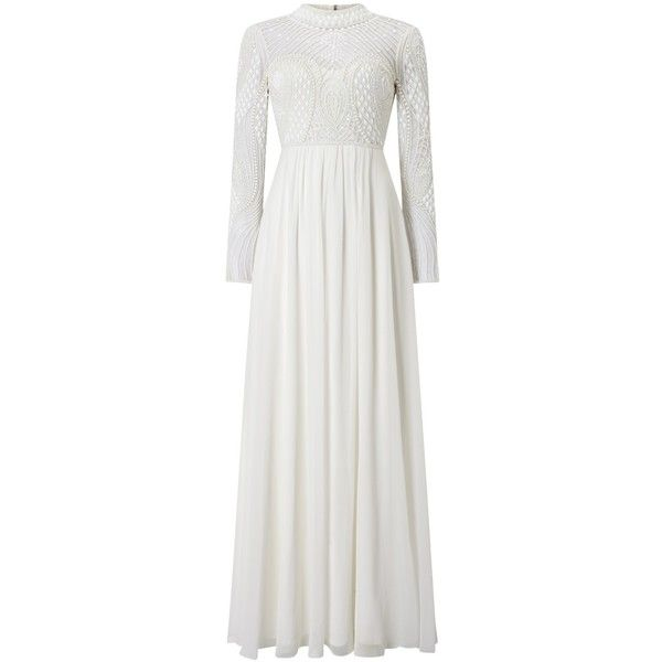 Phase Eight Bridal Ca Wedding Dress Ivory 625 Liked On Polyvore Featuring