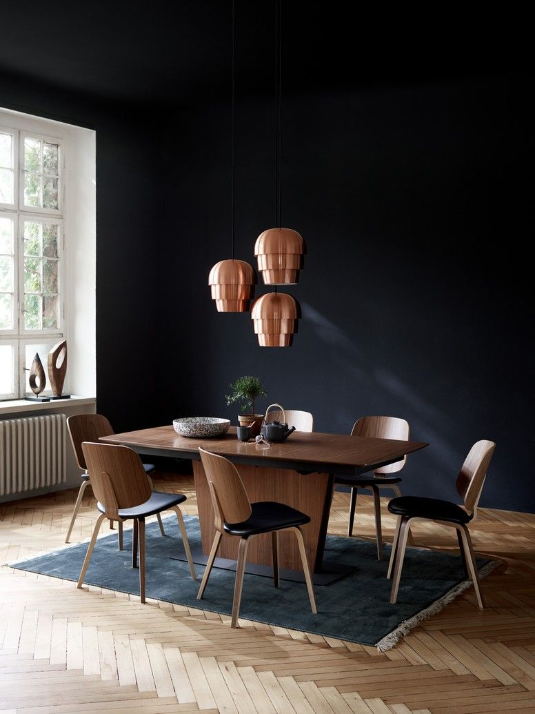 Milano Walnut Modern Dining Table Boconcept Sydney Dining