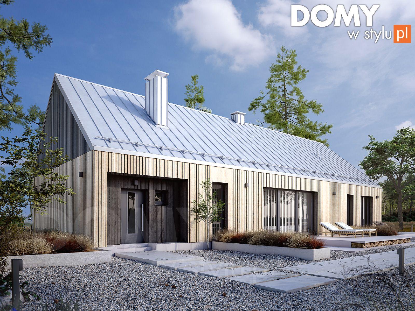 Jemioła projekt domu DOMY w Stylu in 2020 Modern barn