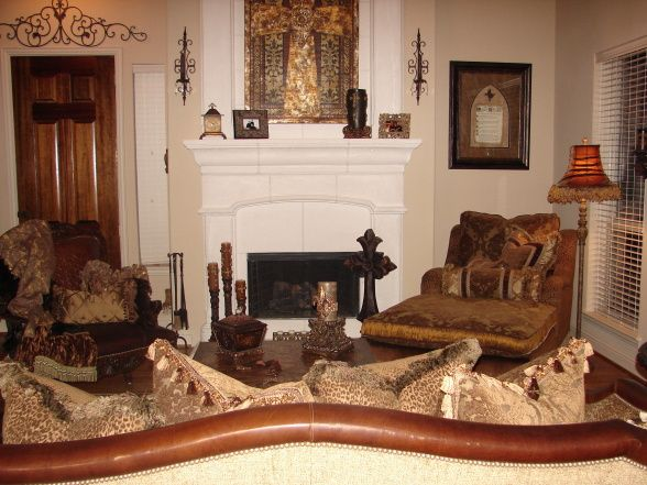 Tuscan Old World Living Room   Living Room Designs   Decorating Ideas    HGTV Rate My