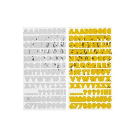 HEMA 2-pak Stickers (Zilver/goud)