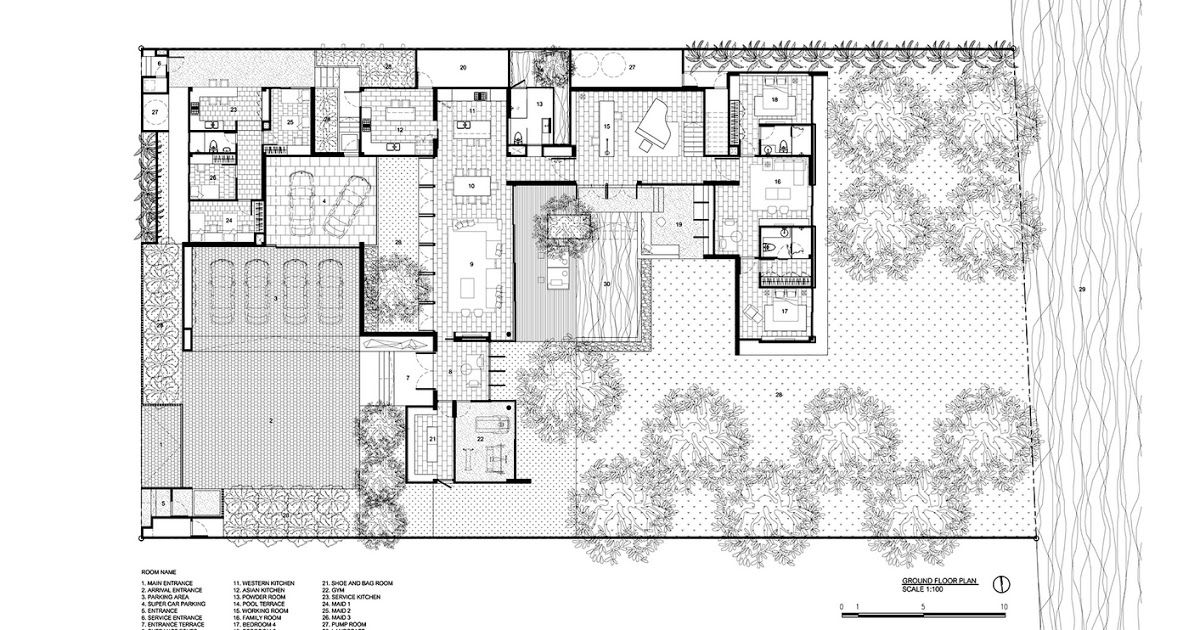 Get Inspired For House Plans With Courtyard In The Middle