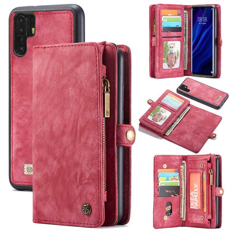 Caseme huawei p30 pro zipper wallet folio case