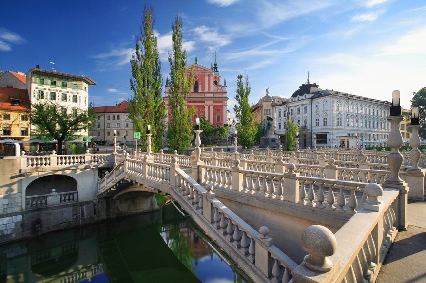 The unique architecture of the extraordinary architect Jože Plečnik - a beautiful Slovenia!  Your holidays in Slovenia! Contact us on Skype: e-growman or e-mail us: jiznelub@gmail.com