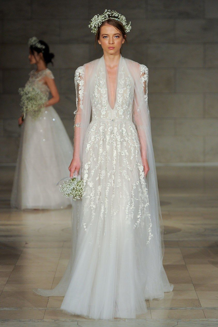 Reem acra bridal fall fashion show reem acra bridal bridal