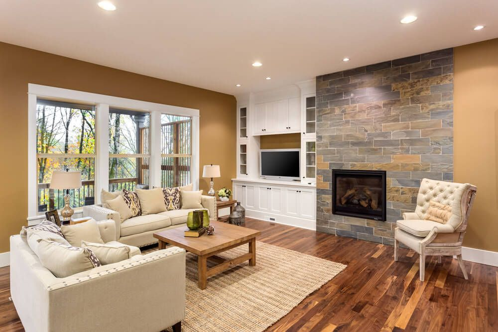 Best Living Room Colors and Color Combinations 2021   Beautiful living rooms, Rustic room ...