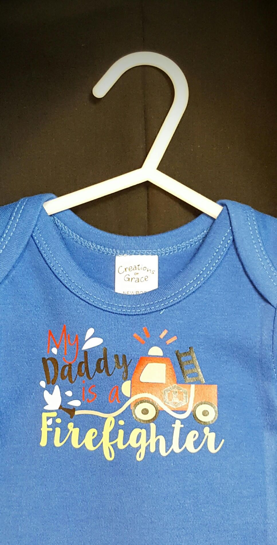 Fearfully and Wonderfully made Bodysuit One Piece Creeper NewBorn Baby  Shower Gift