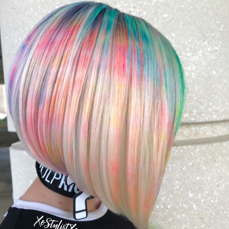 Marble Hair Dye Technique Is The Latest Trend To Take Over