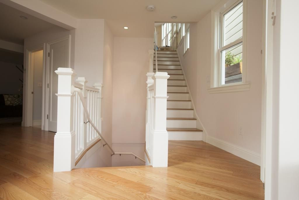 Basement Stairs from the Living Room | The stairs from the ...