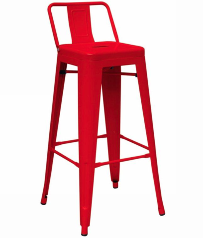 tolix low back metal counter stools red pinterest metal counter