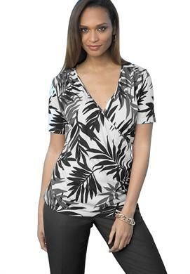 0fe7c88f3ab Tropical Jersey Top