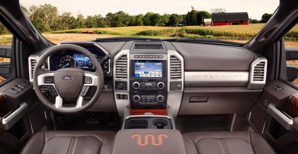 2017 Ford F 350 Super Duty King Ranch Reports For Work Pictures