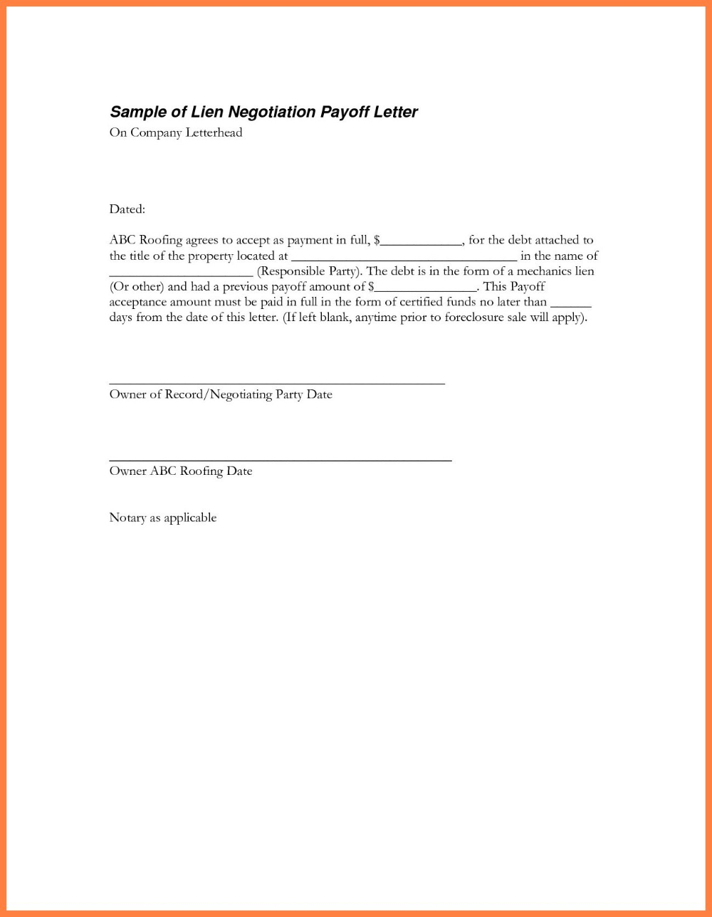 Loan Payoff Letter Heleenvandenhombergh With Regard To Payoff Letter Template 10 Professional Templates Ideas 10 Prof Payoff Letter Loan Payoff Lettering