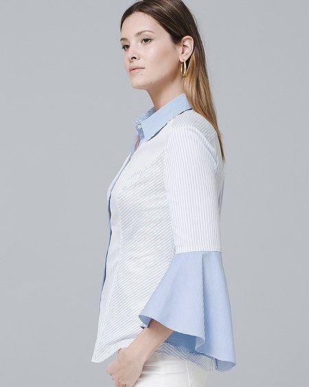 bbef18794a9 Women s Sophia Stripe Shirt by White House Black Market