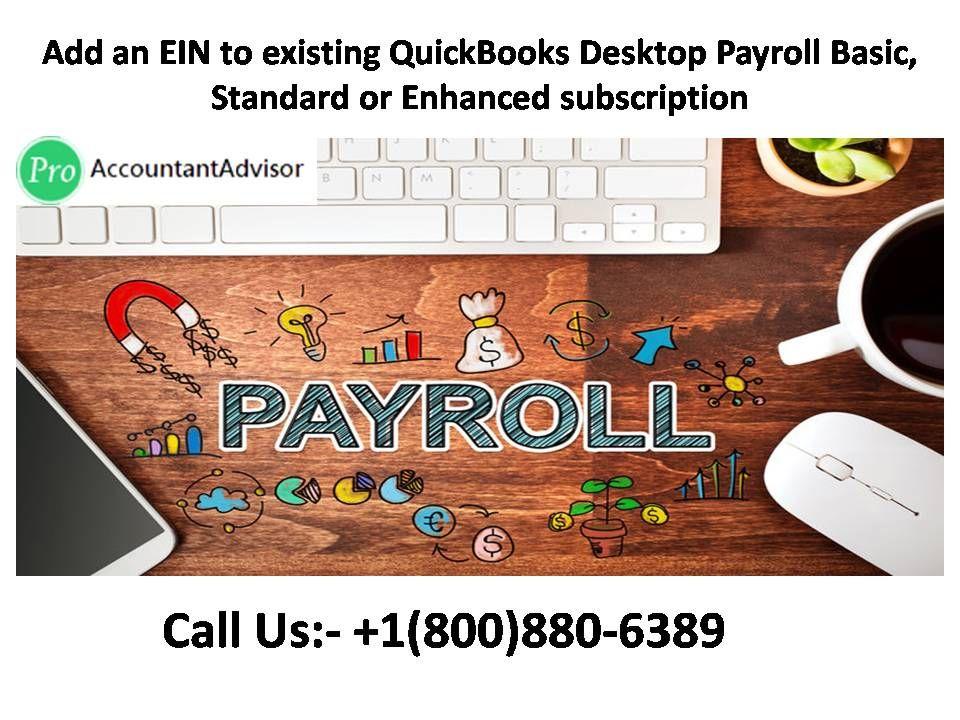 Add an EIN To Existing QuickBooks Desktop Payroll ...