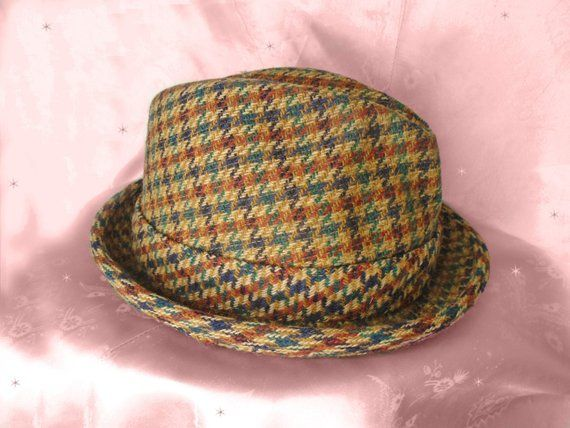 d319d79a7 Vintage Wool Fedora Mens Womens Unisex Fall Winter Hat Hipster ...