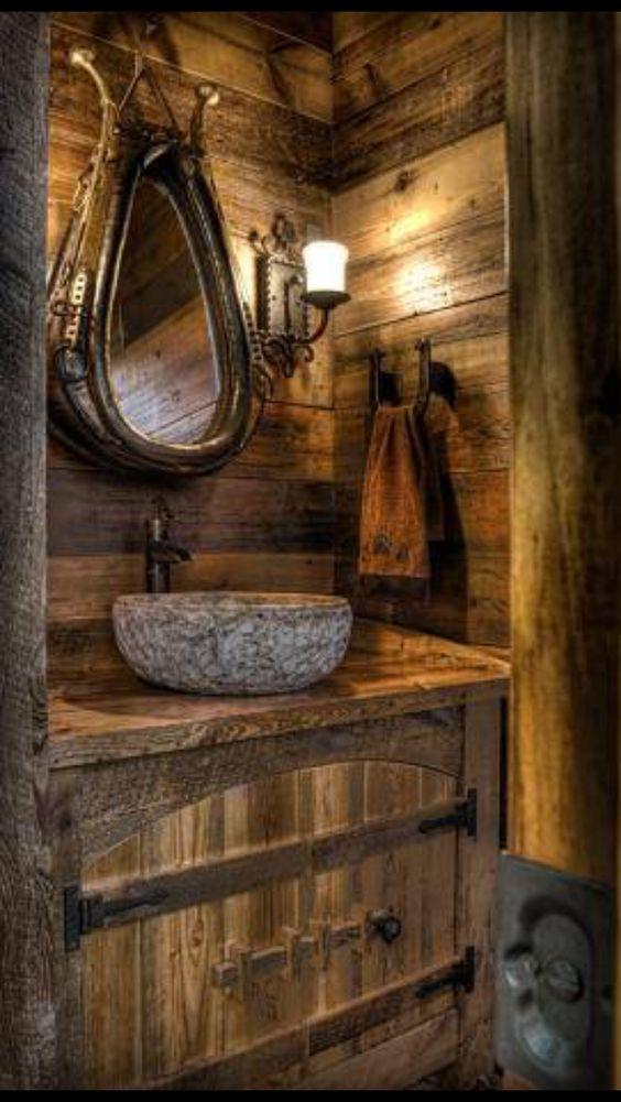 9 unglaubliche rustikale heimwerker f r das badezimmer for Einrichtung badezimmer planung