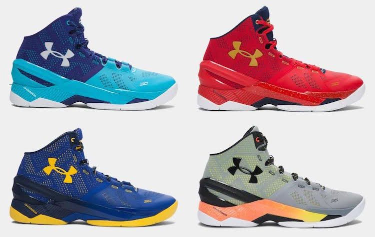 Buy cheap Online under armour curry 2 blue,Fine Shoes Discount