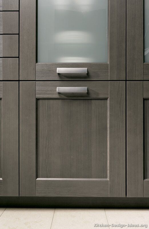 Modern Gray Kitchen Cabinets #03 (Alno.com, Kitchen-Design-Ideas