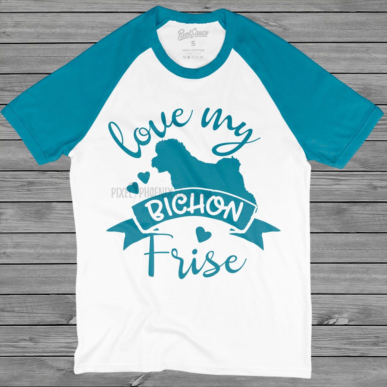 Love my Bichon Frise, Bichon Frise SVG, Dog mom SVG, dog
