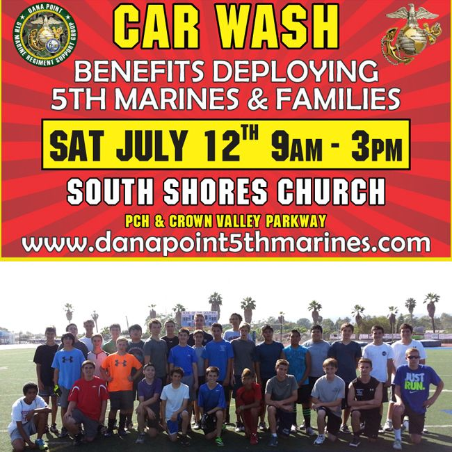 """Today! 5th Marine """"Honor The Valor"""" car wash benefits deploying marines and families @DolphinDynasty @DanaPoint5thMAR https://plus.google.com/108942083870019378089/posts/Nrvt9URxJmY #marines   #5thmarine   #carwash   #dhhs   #dhhsfootball"""