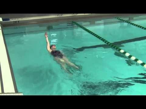 Potomac Marlins Backstroke Drill Progressions Video - YouTube