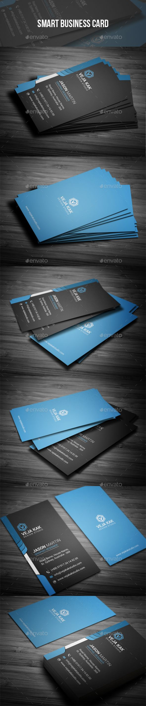 Smart Business Card | Business cards, Business and Card templates