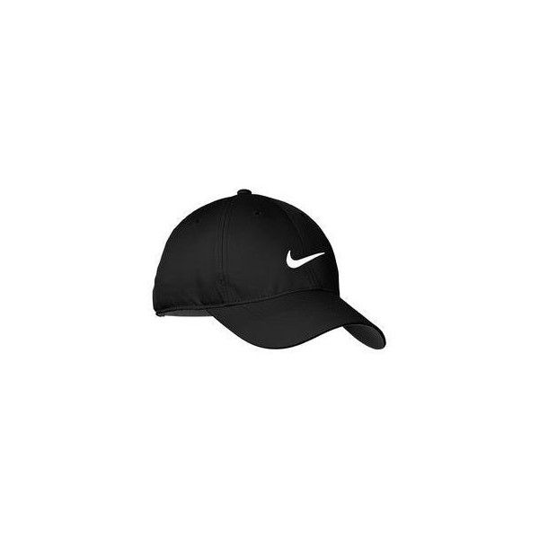 ef02e08c0ae Nike Golf Dri-FIT Swoosh Front Cap ( 20) ❤ liked on Polyvore featuring  accessories