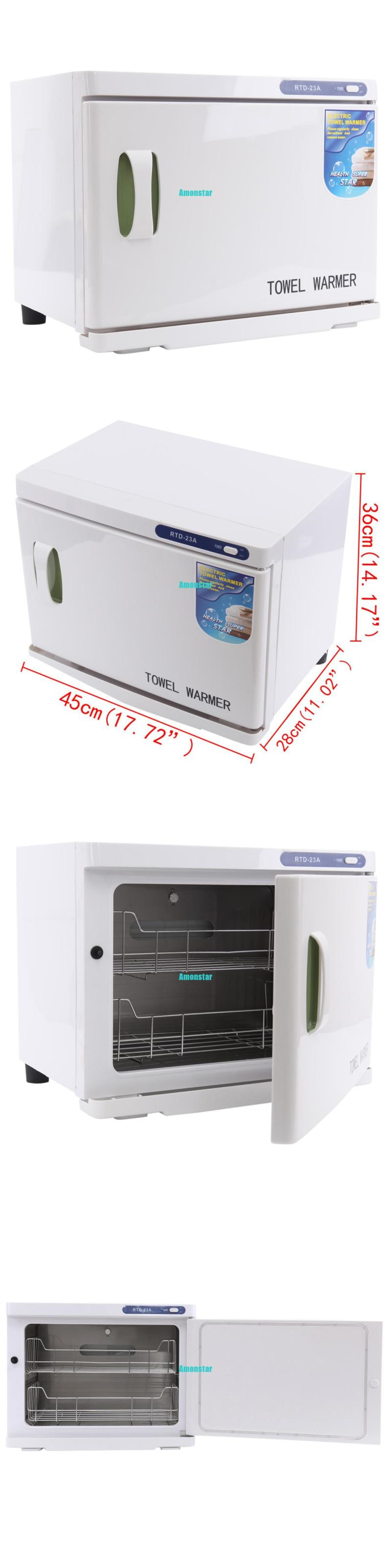 Sterilizers and Towel Warmers 23L 2 In1 Hot Towel Warmer Uv