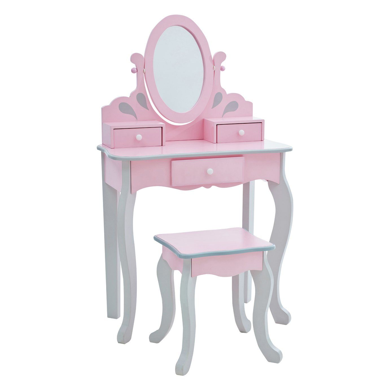 Buy Teamson Kids Princess Rapunzel Vanity Stool Set Kids