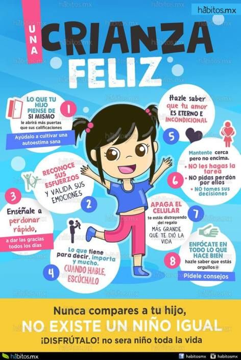 Tips Para Tener Una Crianza Feliz Kids And Parenting Kids Parenting Teaching Kids