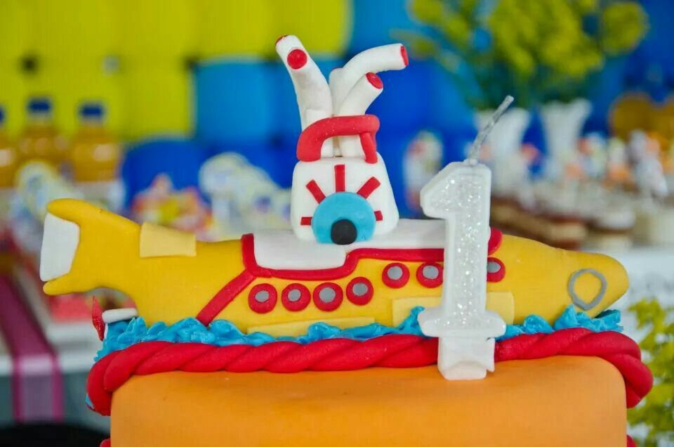 Festa 1 ano Yelow submarine