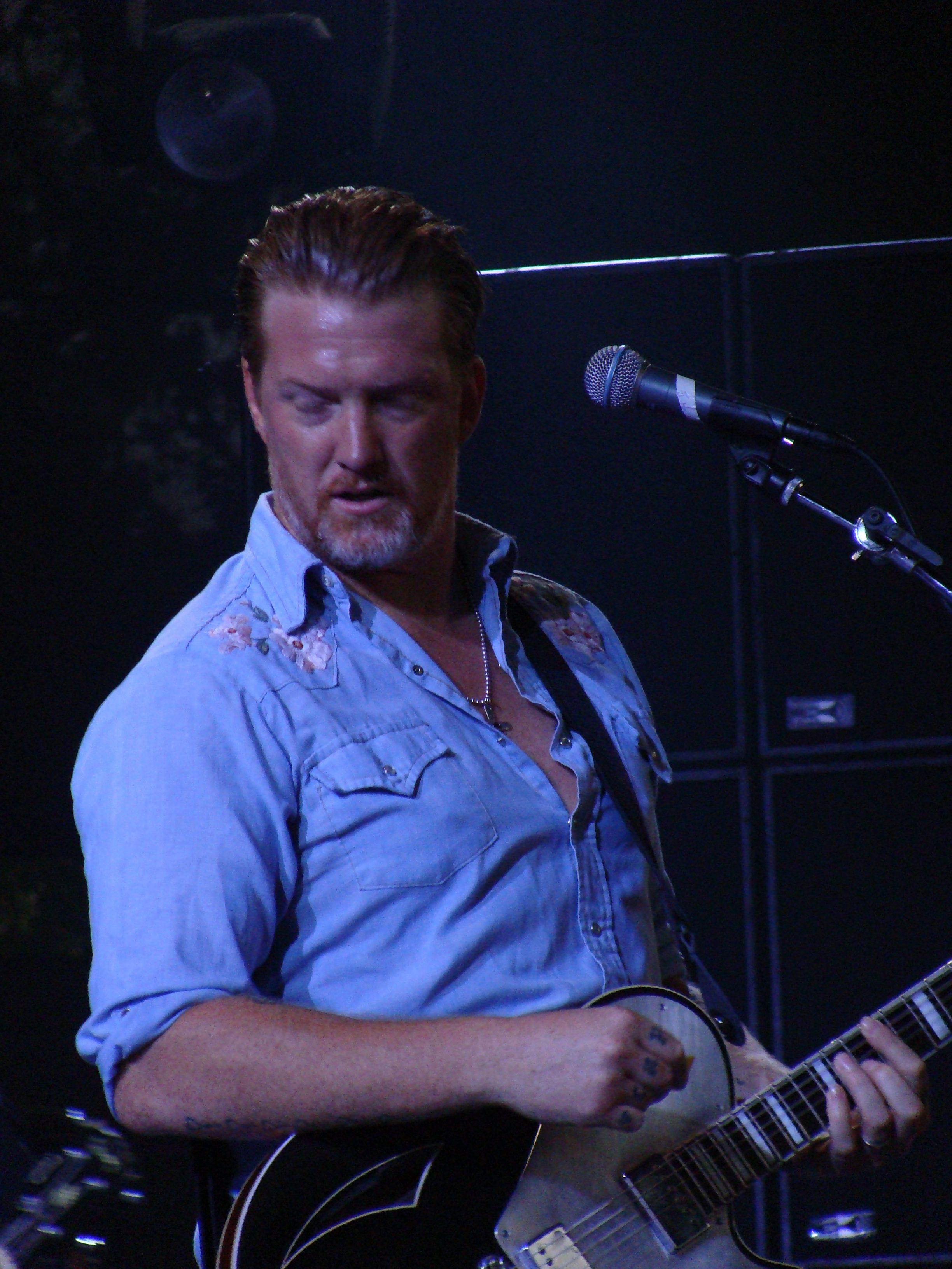 Josh Homme Josh Homme Queens Of The Stone Age Eagles Of Death Metal