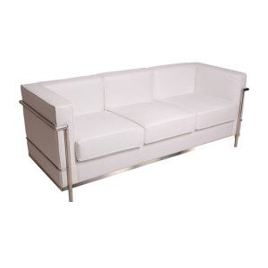 White Leather High Back Tufted Love Seat Platinum Event Rentals Love Seat Best Leather Sofa Modern Loveseat