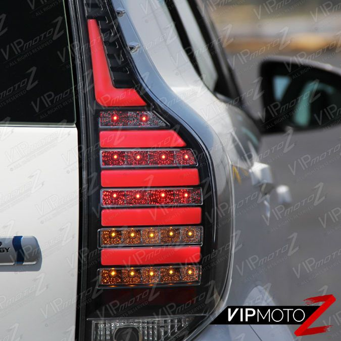 2012 2015 Toyota Prius C Aqua Nhp10 Black Led Rear Brake Lamp Tail