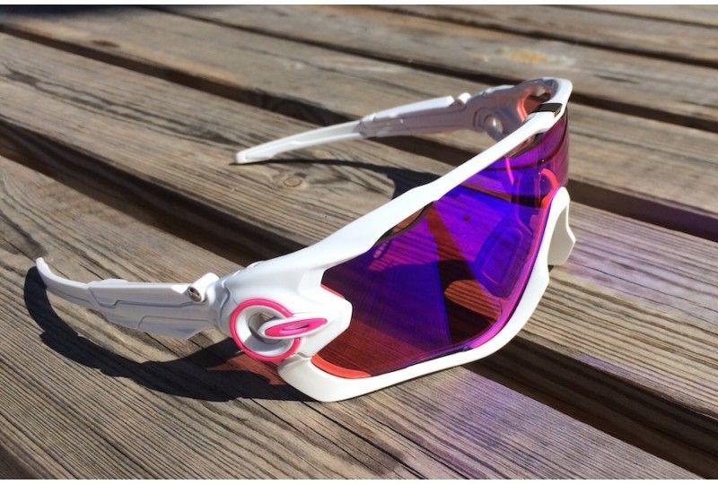 lunette oakley jawbreaker blanche