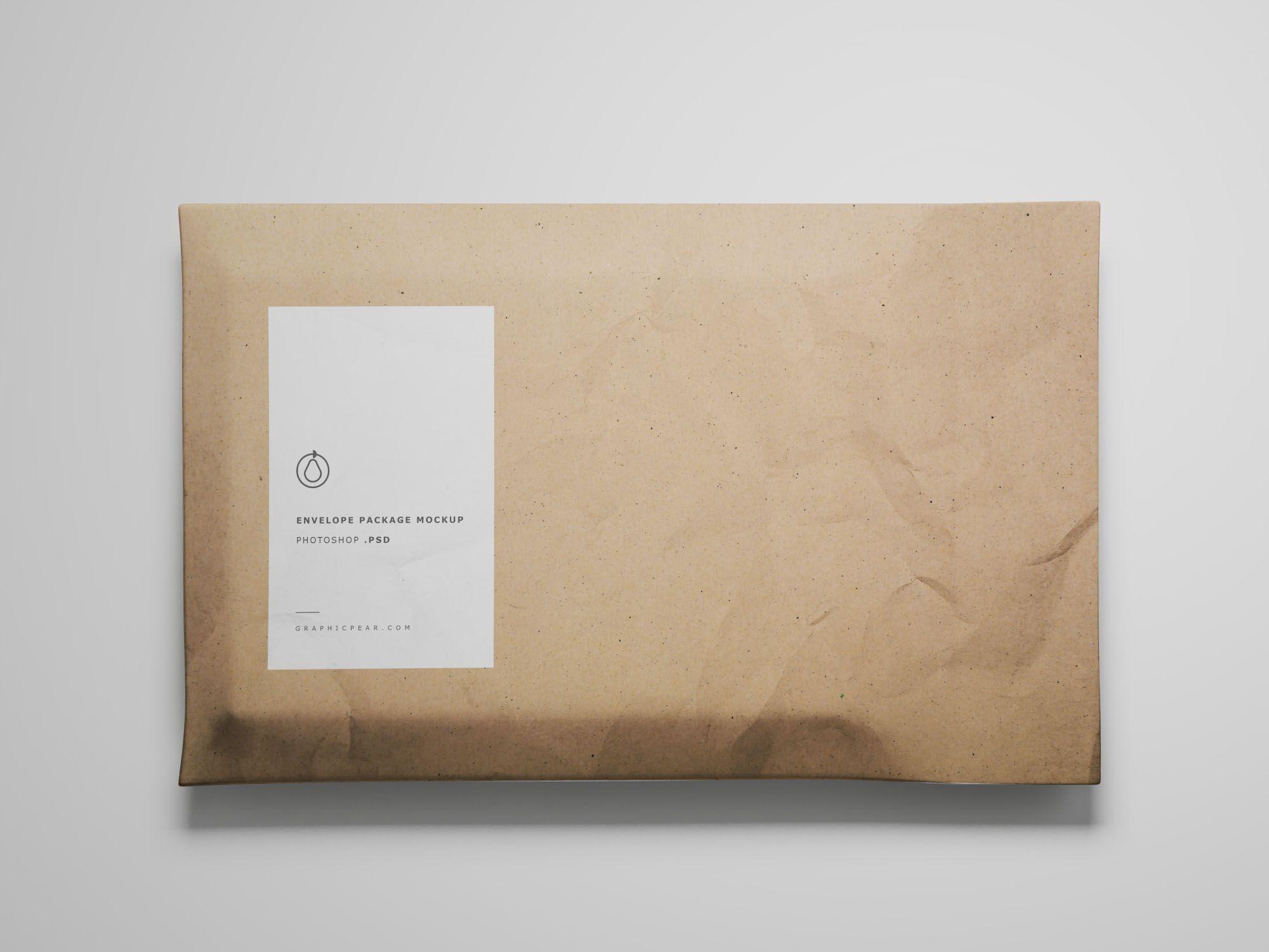 Download Envelope Package Mockup Mockup Mockup Free Psd Mockup Psd