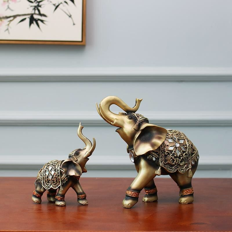 93f3f0c623099 Perfect ornaments for an elephant lover! Decorate your house with these  stylish lucky elephants!