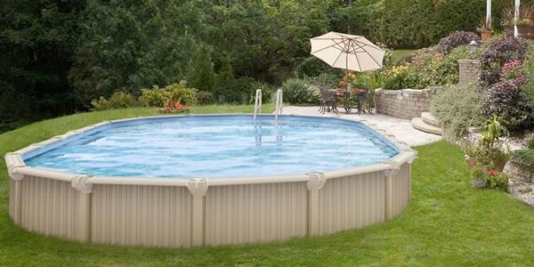 Semi-Inground Swimming Pool Kits | Outside... | Swimming ...