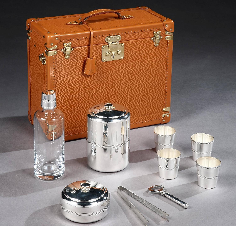 Vintage Louis Vuitton Portable 'Whisky Bar'