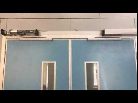 Heavy Duty Automatic Door Opener Swing Door Opener With Remote Control Automatic Door Automatic Door Opener Double Swing