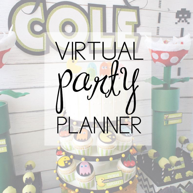 virtual party planning services from amyspartyideas com party