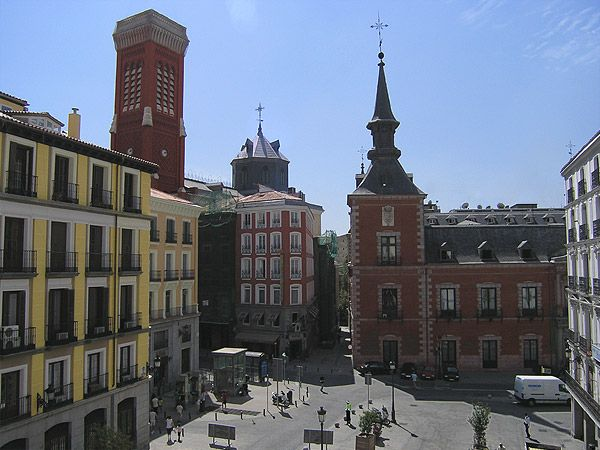 Palacio Santa Cruz. Madrid