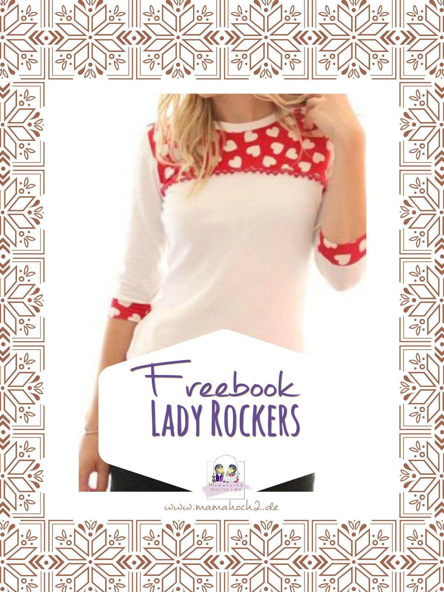 Freebook Lady Rockers #schnittmusterzumkleidernähen