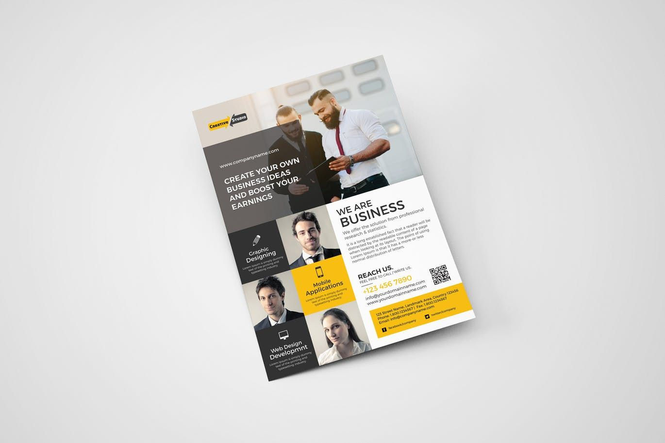 how to make your own flyers for your business